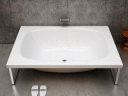 Free-standing bathtub 3d model
