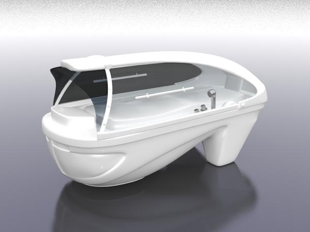 hydro massage spa 3d model 3ds max files free download