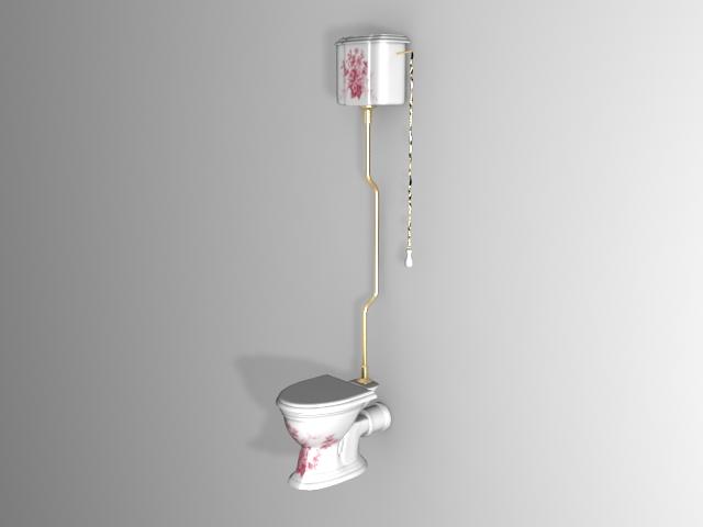 High level toilet 3d model 3ds max files free download modeling 26677 on cadnav - Toilet model ...