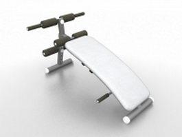 Abdominal board 3d model