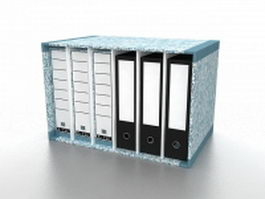 Office file holders 3d model
