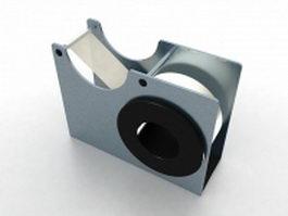 Desktop tape dispenser 3d model