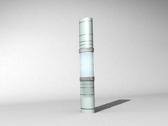 Interior column design 3d model 3d studio 3ds max files for 3d studio max models
