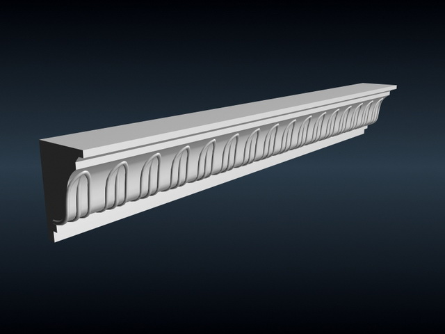 Ceiling Corner Molding 3d Model 3ds Max Files Free