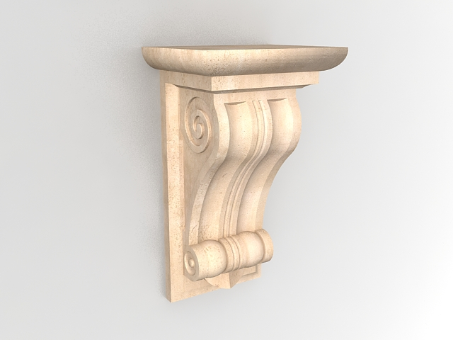 corbel 3d model free download - cadnav