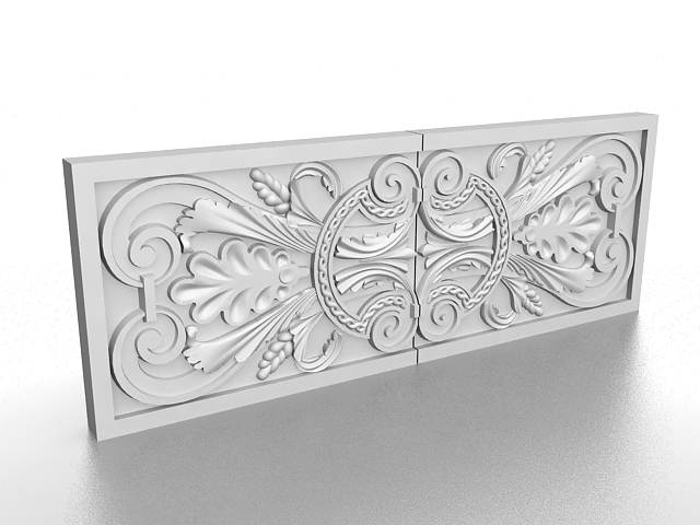 Decorative Exterior Wall Panels 3d Model 3ds Max Files