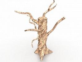 Death tree 3d model