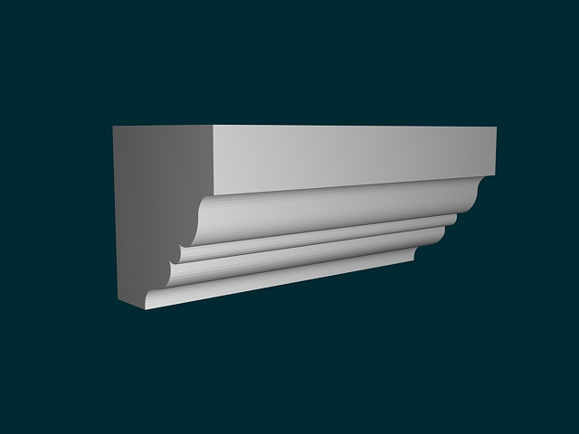 Wall Molding 3d Model 3ds Max Files Free Download