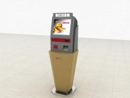 Bank self-service terminal 3d model