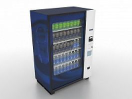 Drink vending machine 3d model