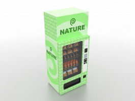 Snack vending machine 3d model