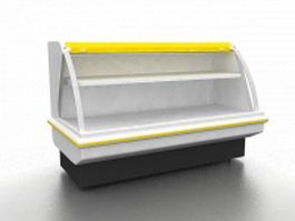 Cake cooler display case 3d model