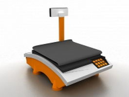Retail scale 3d model