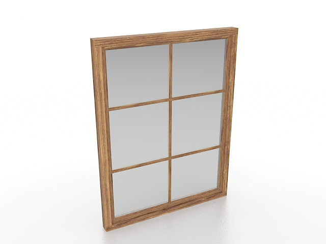 French Casement Window 3d Model 3ds Max Files Free