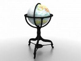 Replogle globe 3d model