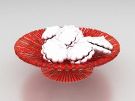 Dessert pastry 3d model