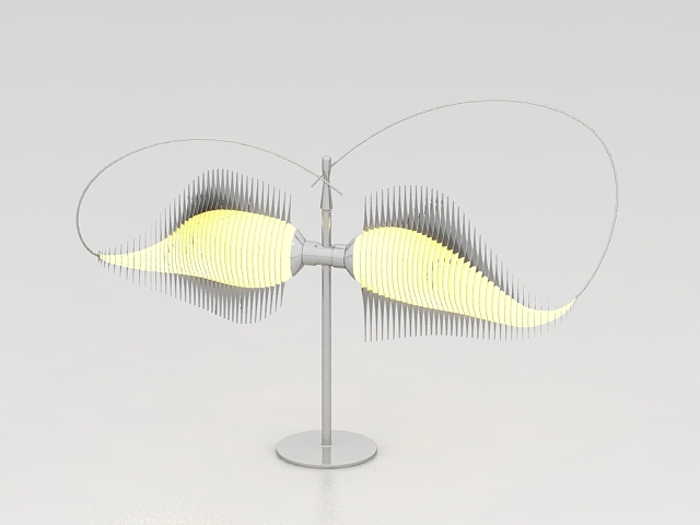 Modern decorative table lamp 3d model