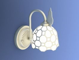Retro wall sconce lighting 3d model