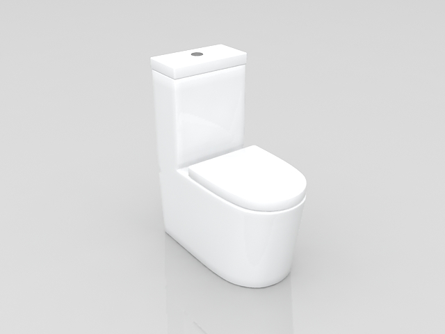 Modern toilet design 3d model 3ds max files free download modeling