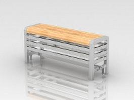 Designer seat radiator 3d model