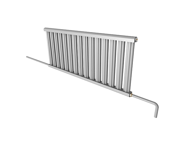 Steam radiator with pipe 3d model 3ds max files free download