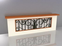 Decorative radiator covers 3d model