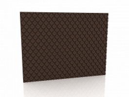 Tufted wall coverings 3d model