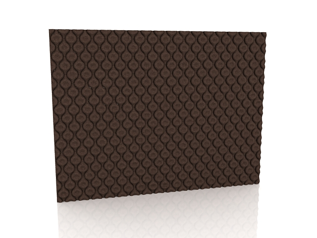 Tufted Wall Coverings 3d Model 3ds Max Files Free Download
