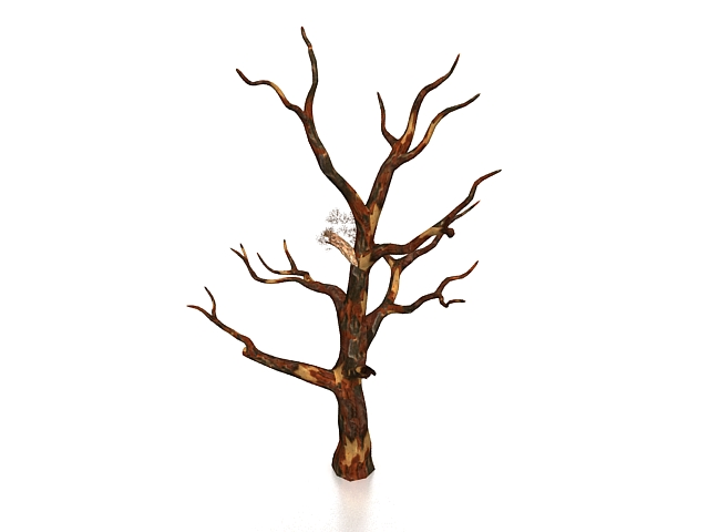 Dry Tree 3d Model 3ds Max Files Free Download
