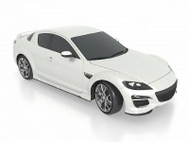 Mazda RX-8 quad coup 3d model