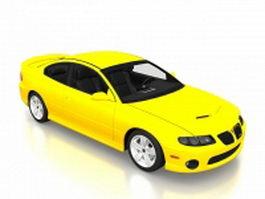 2006 Pontiac GTO 3d model