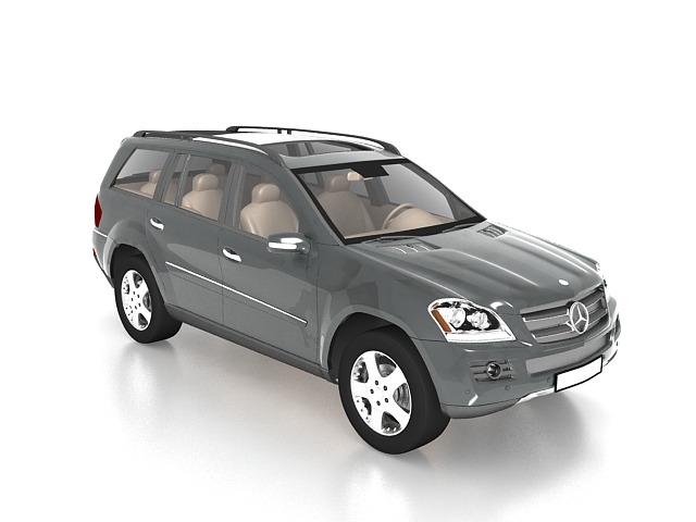 Mercedes-Benz GL class SUV 3D Model