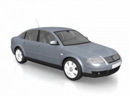 Volkswagen Passat sedan 3d model