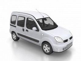 Renault kangoo van 3d model