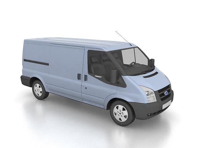 Ford Transit Van 3d Model 3ds Max Files Free Download