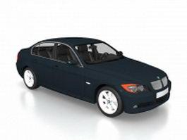BMW 330 sedan passenger car 3d model