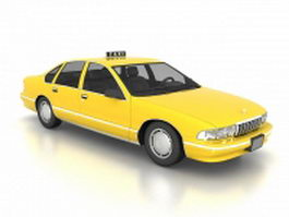 Chevrolet Caprice NYC Taxi 3d model