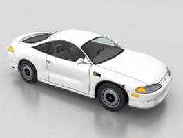 Mitsubishi Eclipse sport compact car 3d model