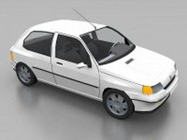 Renault 5 Turbo hatchback 3d model