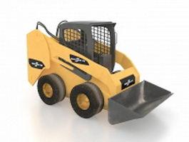 Skid-steer loader 3d model