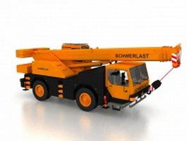 Loader crane 3d model