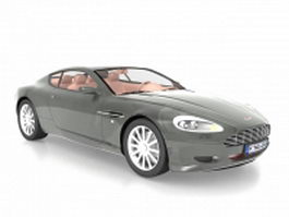 Aston Martin DB9 coupe 3d model