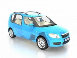 Skoda roomster LAV 3d model