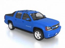 Chevrolet Avalanche sport utility truck 3d model