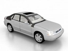 2003 Saturn sedan 3d model