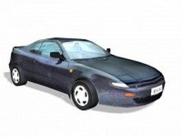 Sports roadster 3d model