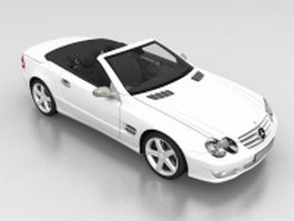 Mercedes-Benz SL Roadster 3d model