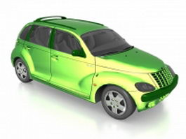 Chrysler PT Cruiser compact car 3d model
