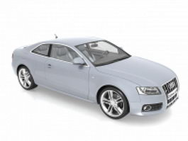 Audi S5 compact car 3d model