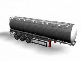 Tank trailer 3d model